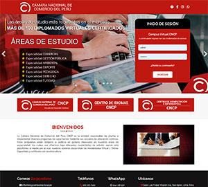 Cámara nacional de comercio del Perú - Aula virtual