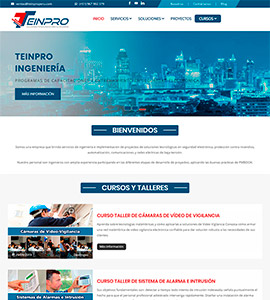 TEINPRO - Página web
