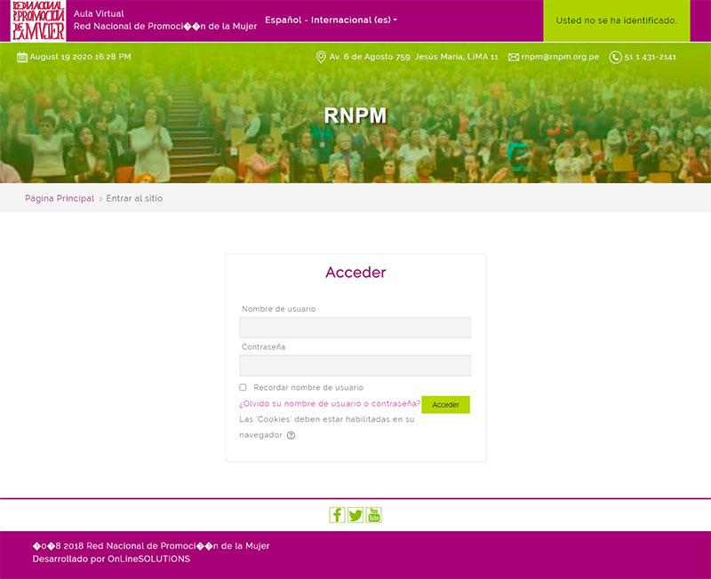 RNPM - Loggin
