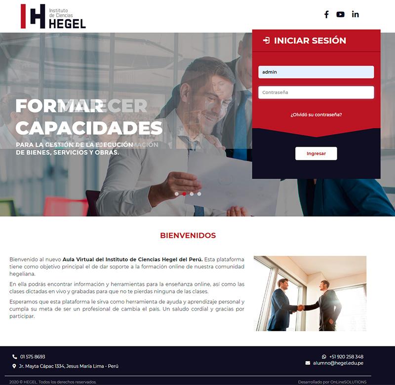 HEGEL - Aula virtual