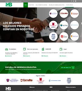 MBM CONSULTORES Y CONTADORES - Página web