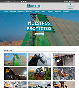 HUNG SAC - Página web
