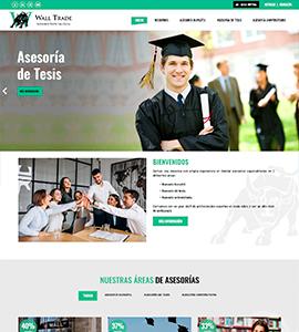 Wall Trade Pagina Web Administrable