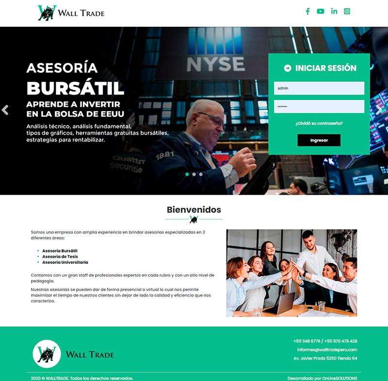 Wall Trade Aula Virtual