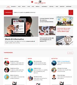 Diario el Informativo pagina web administrable