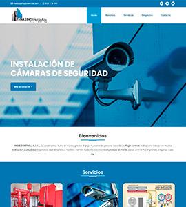 FAGLE CONTROLS Página web