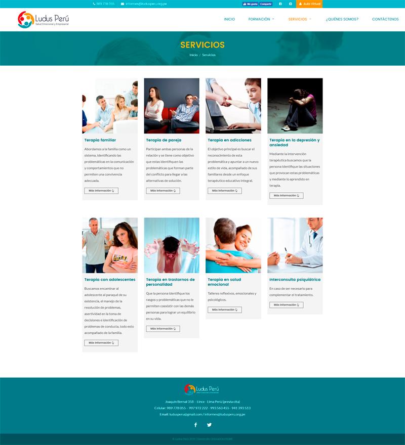 Servicios Psicoterapia y Consejería