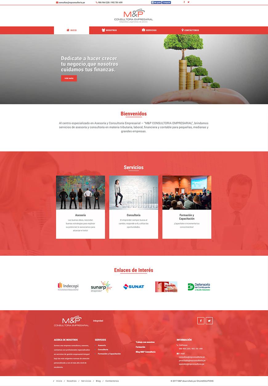 Pagina Web Corporativa<br><br>